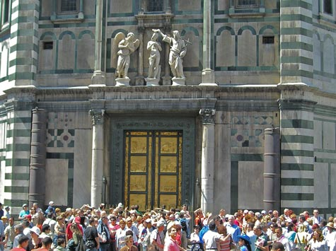 Baptistery in Florence Italy (Battistero)
