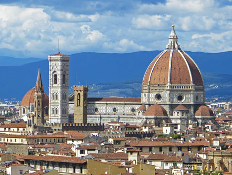 The Duomo -  Famous Cathedral in Florence Italy