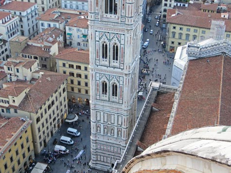Duomo District of Florence Italy