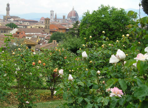 Formal Gardens of Florence Italy