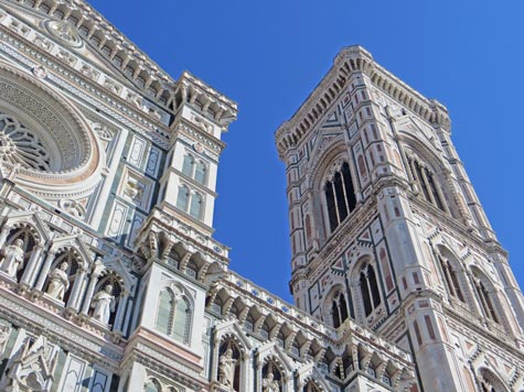 Giotto's Tower in Florence Italy