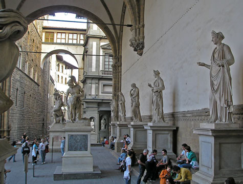 Image result for statues in Loggia dei Lanzi.florence italy