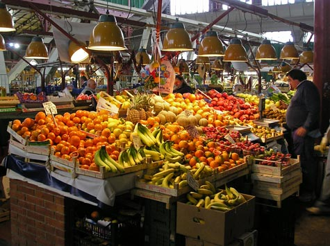 Central Market in Florence Italy (Mercato Centrale)