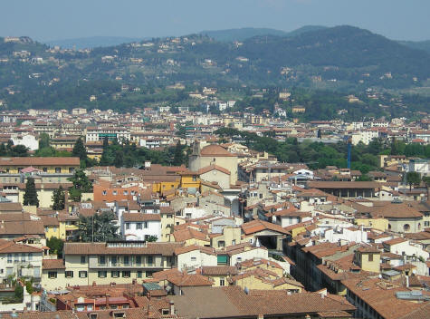Northern Suburbs of Florence Italy