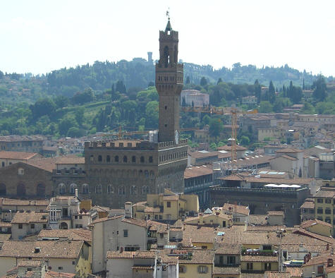 Palazzo Vecchio - Vecchio Palace in Florence Italy