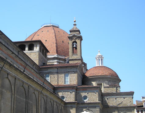 San Lorenzo Church in Florence Italy