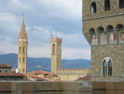 Signoria District of Florence Italy - Top Tourist Attractions and City landmarks