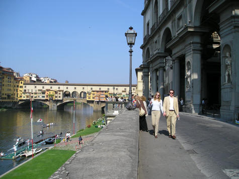 Touring Florence Italy by Foot