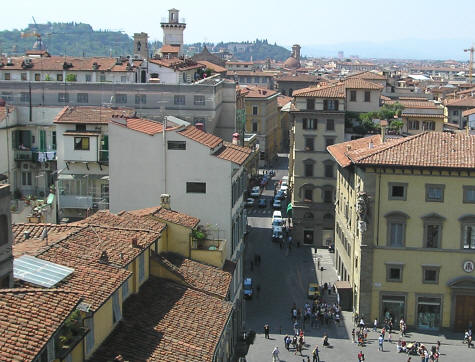 Western Suburbs of Florence Italy